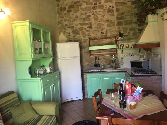 Poggio Pozzetti: Living/dining/kitchen area