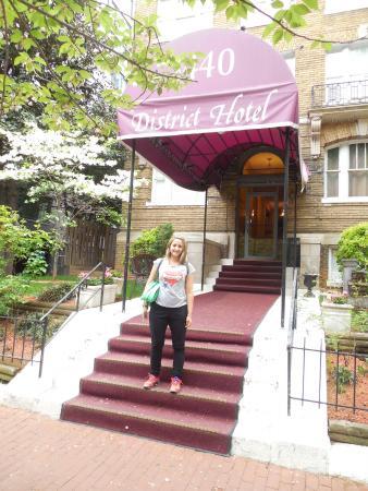 District Hotel Washington: Entrada