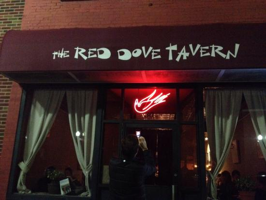The Red Dove Tavern: Entrance