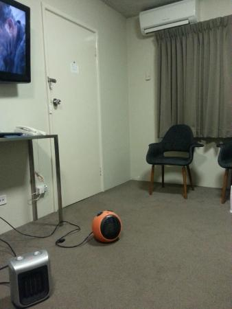 Forrest Hotel And Apartments: Three heating devices