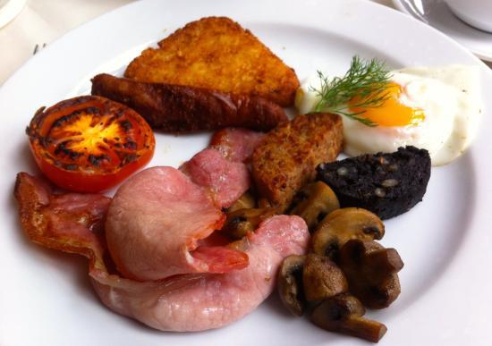 Foyles Hotel: Super cooked Irish breakfast