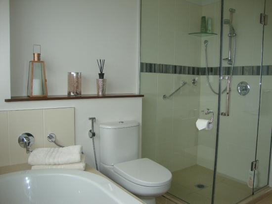 Clear View : Pukeko private bathroom