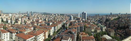 The Marmara Sisli: View from 12th floor