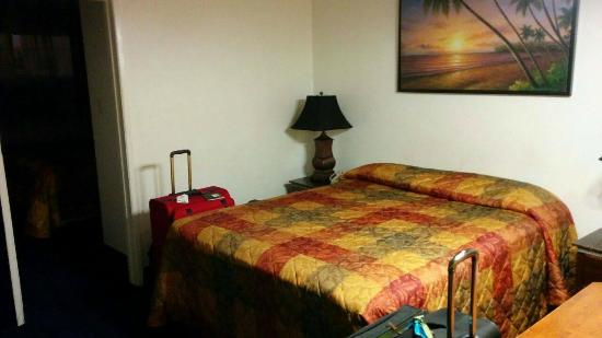 Tradewinds Airport Hotel : First Room