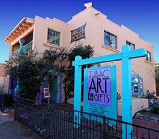 Tubac, AZ: Fine art gallery and hand made crafts for sale