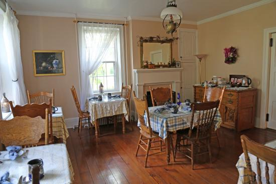 The Lightner Farmhouse: The Breakfast Room