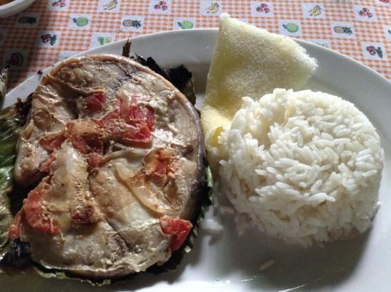 Hotel Pirarucú : Taparasca, plato tipico amazonico