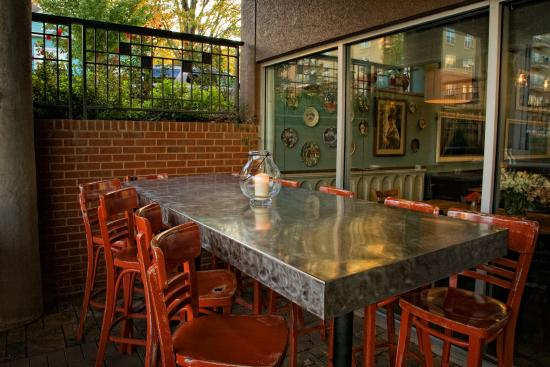 Covered Outdoor Patio Dining For Large