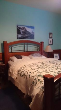 Alicion Bed & Breakfast: Kingfisher room
