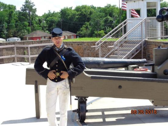 Old Fort Jackson: Fort Jackson - Protection of the River