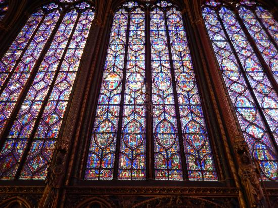 Paris, Fransa: Stained glass