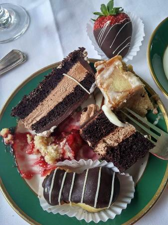 Grand Luncheon Buffet: Some of the desserts we shared.