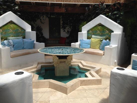 The Cottage Inn & Spa: Firepit