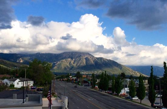 Hampton Inn & Suites Salt Lake City/University-Foothill Dr.: View from terrace