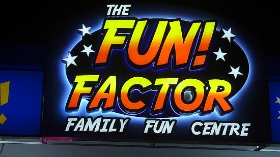 The Fun Factor Family Fun Centre - Pirates Mini Golf & Laser Tag: Fun Factor Logo
