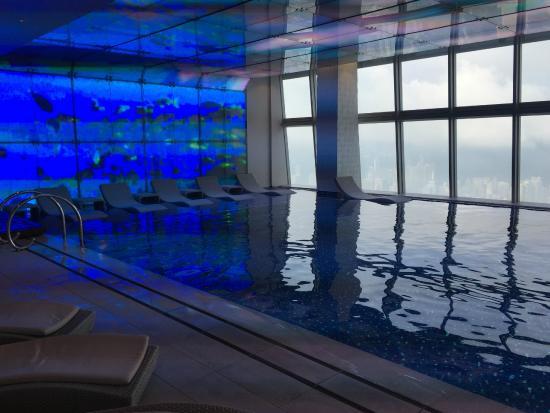 Pool Picture Of The Ritz Carlton Hong Kong Hong Kong Tripadvisor