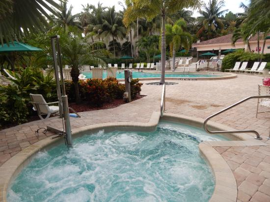 Club Regency of Marco Island : from whirlpool to pool and clubhouse