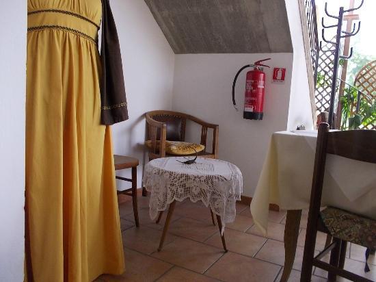 Agriturismo Corte Mirola: Area mercatino medievale e prodotti del territorio ferrarese