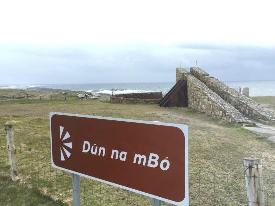 Belmullet, Ιρλανδία: Dún na mBó Viewpoint