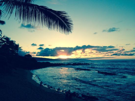 Пайя, Гавайи: Sunset at Mama's Fish House