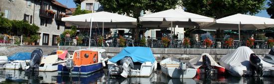 Restaurant Du Lac: TERRAZZO  sul  LAGO