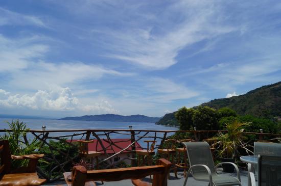 Bontoc Seaview Guesthouse: The veranda