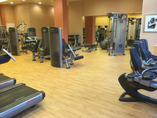 24 hour fitness room picture of san diego marriott la jolla la