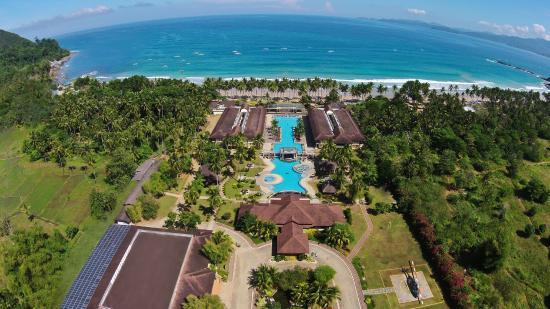 Sabang, Philippines: Aerial View of Sheridan Beach Resort & Spa