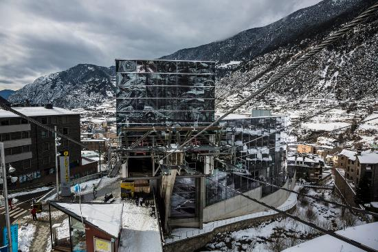 Encamp, Andorre : Funicamp