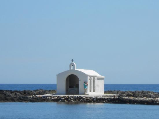 Corissia Beach Hotel: Kapelle von Georgioupolis