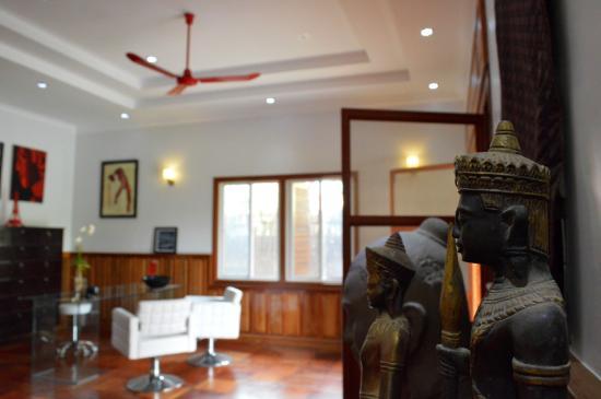 Réception bureau de la villa b maison d hôtes angkor picture