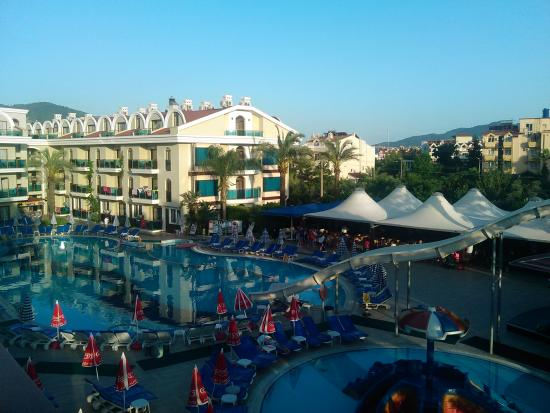 Candan Club Hotel : our view from room