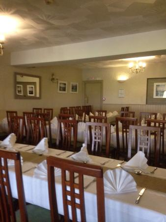 The Liscawn Restaurant: Preparing for a function
