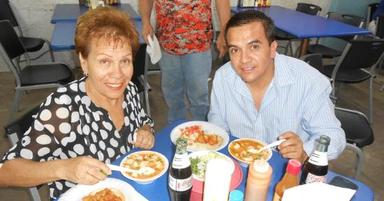 Nogales, AZ: Couple who are regulars at Cocina La Ley