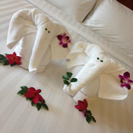 Mission Hills Phuket Golf Club Resort & Spa: приветствие