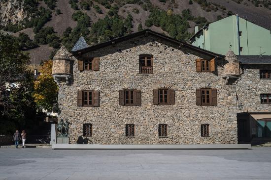 Andorre-la-Vieille, Andorre : Casa de la vall
