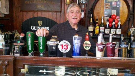 The International Bar: Great beer selection!
