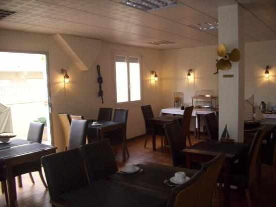 Restaurant de la mer : La salle de restaurant