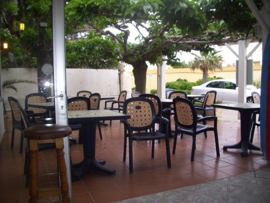 Restaurant de la mer : La terrasse
