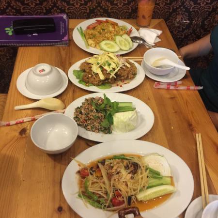 Coriander Thai Cuisine: No spicy No taste