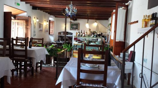 Montimar: Interior, dining room, where we prefer to sit