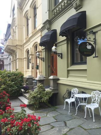 Steens Hotel: Charming hotel by the University of Bergen