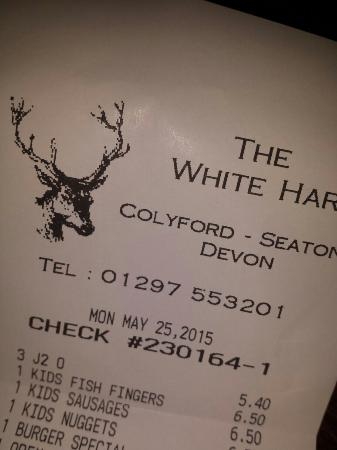 Colyford, UK: Really reasonable and great food here!