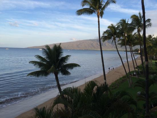 Kihei Beach: View from lanai #409