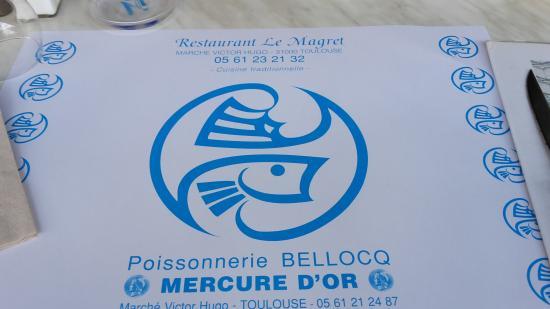 Restaurant Le Magret: petit resto très sympa avec vue dégagée sur la ville de TOULOUSE .