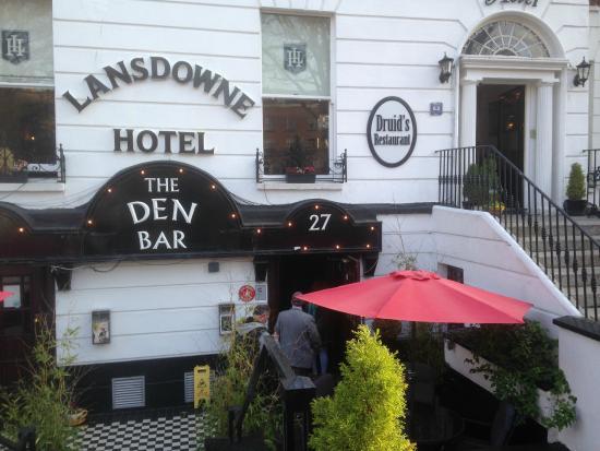 Lansdowne Hotel Ballsbridge: restaurante druid's