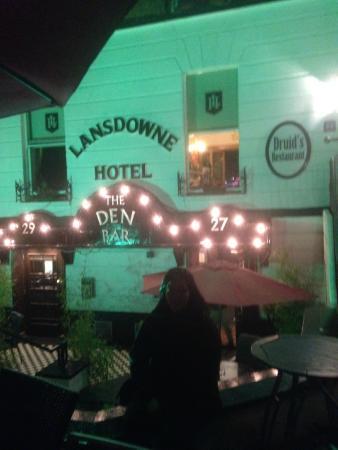 Lansdowne Hotel Ballsbridge: hotel restaurante