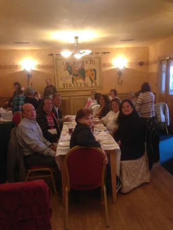 Lansdowne Hotel Ballsbridge: Jantar druid's