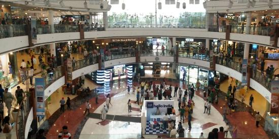 Dlf Place Saket From Inside Picture Of Dlf Place Saket New Delhi