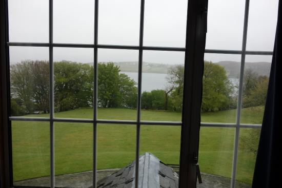 Greshornish House Hotel: View from our room